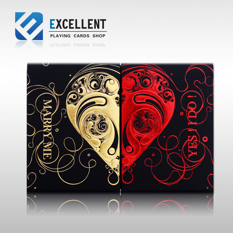 Free Shipping 1set 2decks Bicycle LPV Playing Cards Valentines Day Gift Bicycle Magic Card