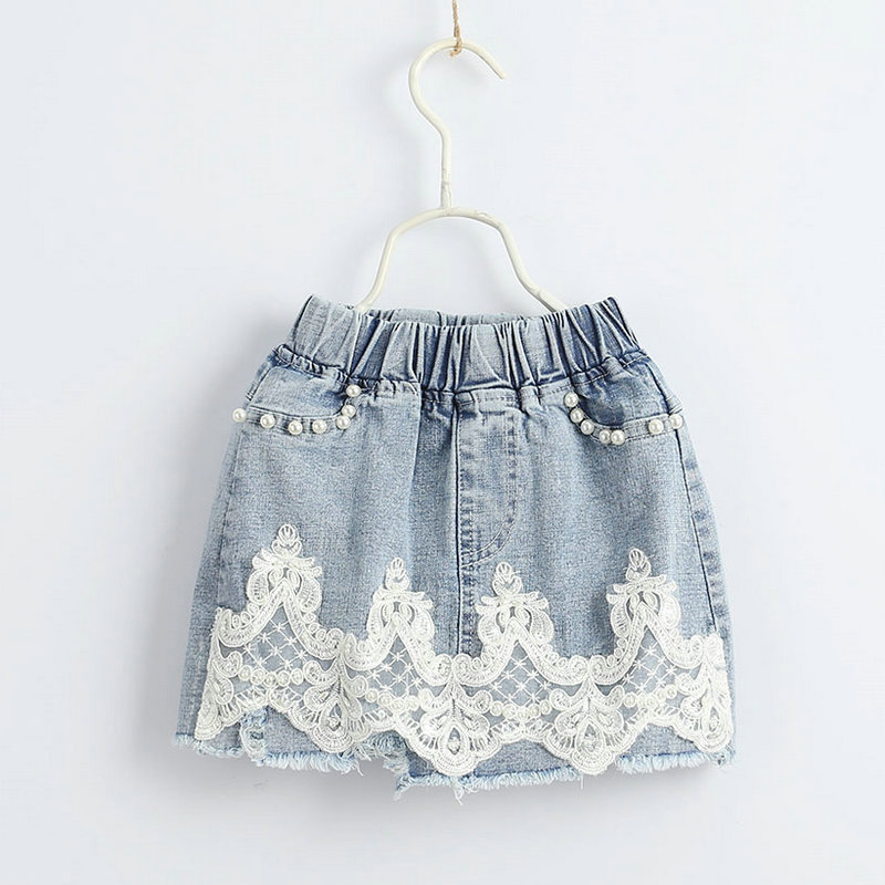 Wholesale of Children s Skirts Nail Balls Lace Decoration Skirts Summer 2019