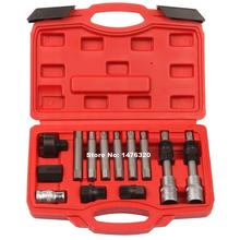 13PCS Automotive Alternator Pulley Flywheel Removal Tool Kit AT2043