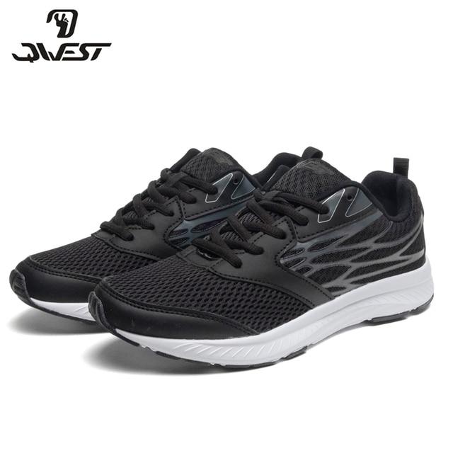 Кроссовки QWEST для мальчиков и подростков 91K-JSZ-1303, вид застежки –шнурок, дышащий материал, кожаная стелька, для спорта и отдыха, размер 36-41. Модная, стильная модель.