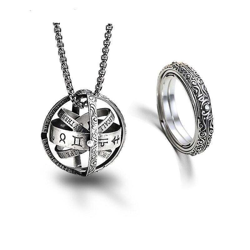 Lateefah 2019 anneau astronomique à clapet rotatif anneau astronomique anneau astronomique anneau cosmique pour Couples