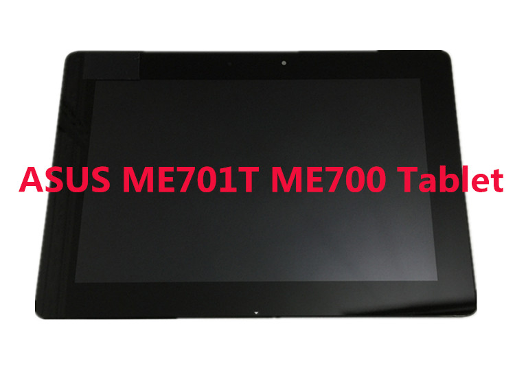 ФОТО For ASUS Transformer Pad TF700 V0.1 Black Full LCD Display Monitor with Digitizer Touch Panel Screen Glass Assembly With Frame