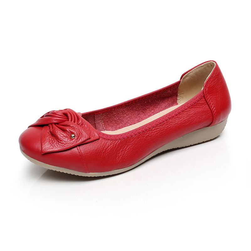 2017 Women Flats genuine Leather Women Shoes Slip on  Flats Casual moccasins loafers Comfort  shoes pl us size 38 47 handmade genuine leather mens shoes casual men loafers fashion breathable driving shoes slip on moccasins