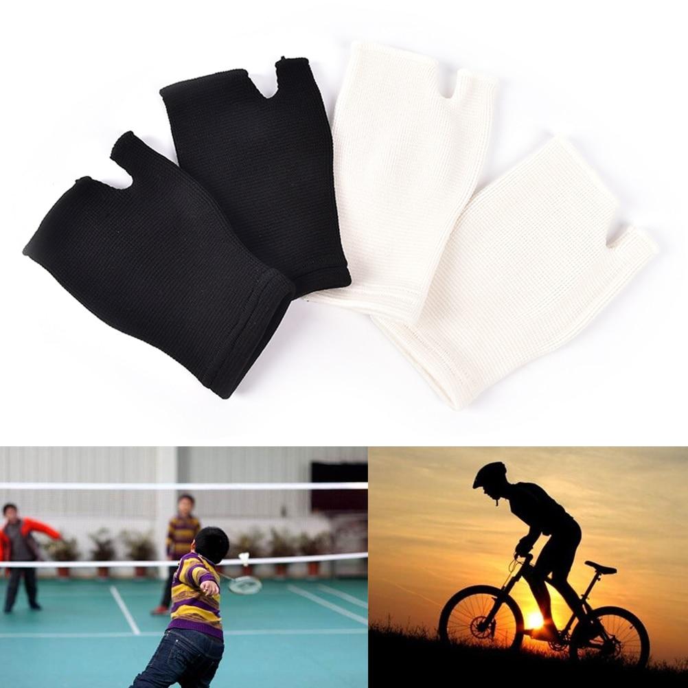 1Pair Wrist Support Bandage Removable Hand Brace Finger Splint Carpal Protection Wrap Glove Elastic Palm Hand Wrist Health Care 1