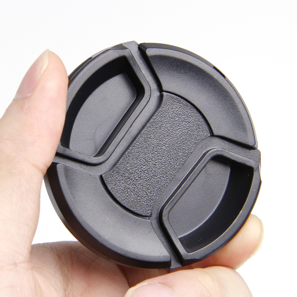 58 мм передняя крышка объектива защелкивающаяся для sony Nikon Olympus Pentax Panasoni Fuji Прямая поставка поддержка