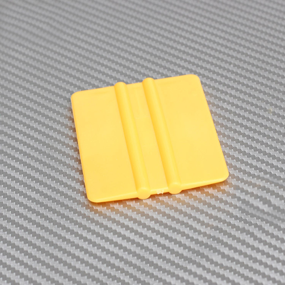 """Mini Squeegee Yellow 3"""" x 2.1"""" Vinyl Car Vehicle Graphic Application Wrap Tool QG 08-in Car Stickers from Automobiles & Motorcycles"""