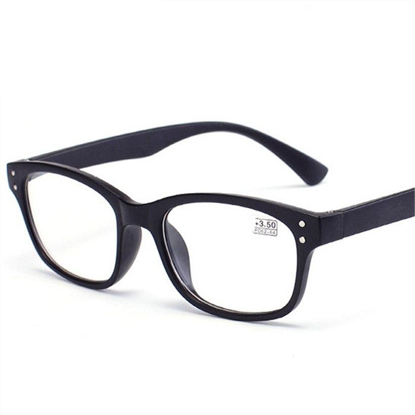 In Kujuny Frauen Männer Lesebrille Ultraleicht Harz Linsen Presbyopie Glasse Ältere Tr90 Presbyopie Brillen Dioptrien 1,0 1,5 Modischer Stil;