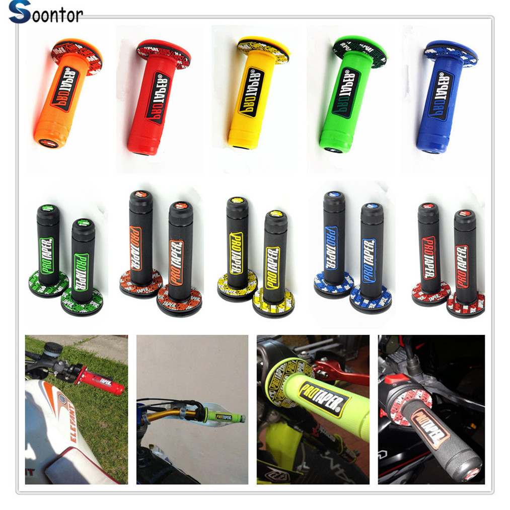 2018 NEW Handle Grip Motorcycle Dirt Pit Bike Rubber Gel Hand Grips FOR YAMAHA WR250R X SEROW225 250 TTR125 L E TTR250  12002018 NEW Handle Grip Motorcycle Dirt Pit Bike Rubber Gel Hand Grips FOR YAMAHA WR250R X SEROW225 250 TTR125 L E TTR250  1200