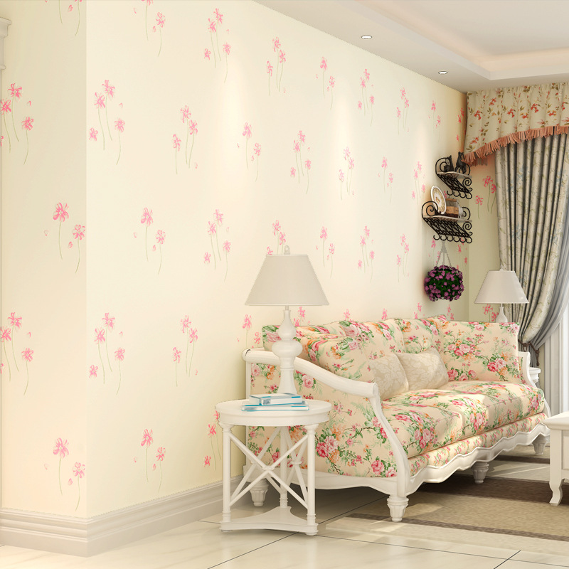 beibehang Precision pressure three-dimensional 3D non-woven wallpaper warm garden flowers living room wallpaper beibehang precision pressure 3d three dimensional non woven wallpaper sofa wall paper wallpaper living room bedroom full shop