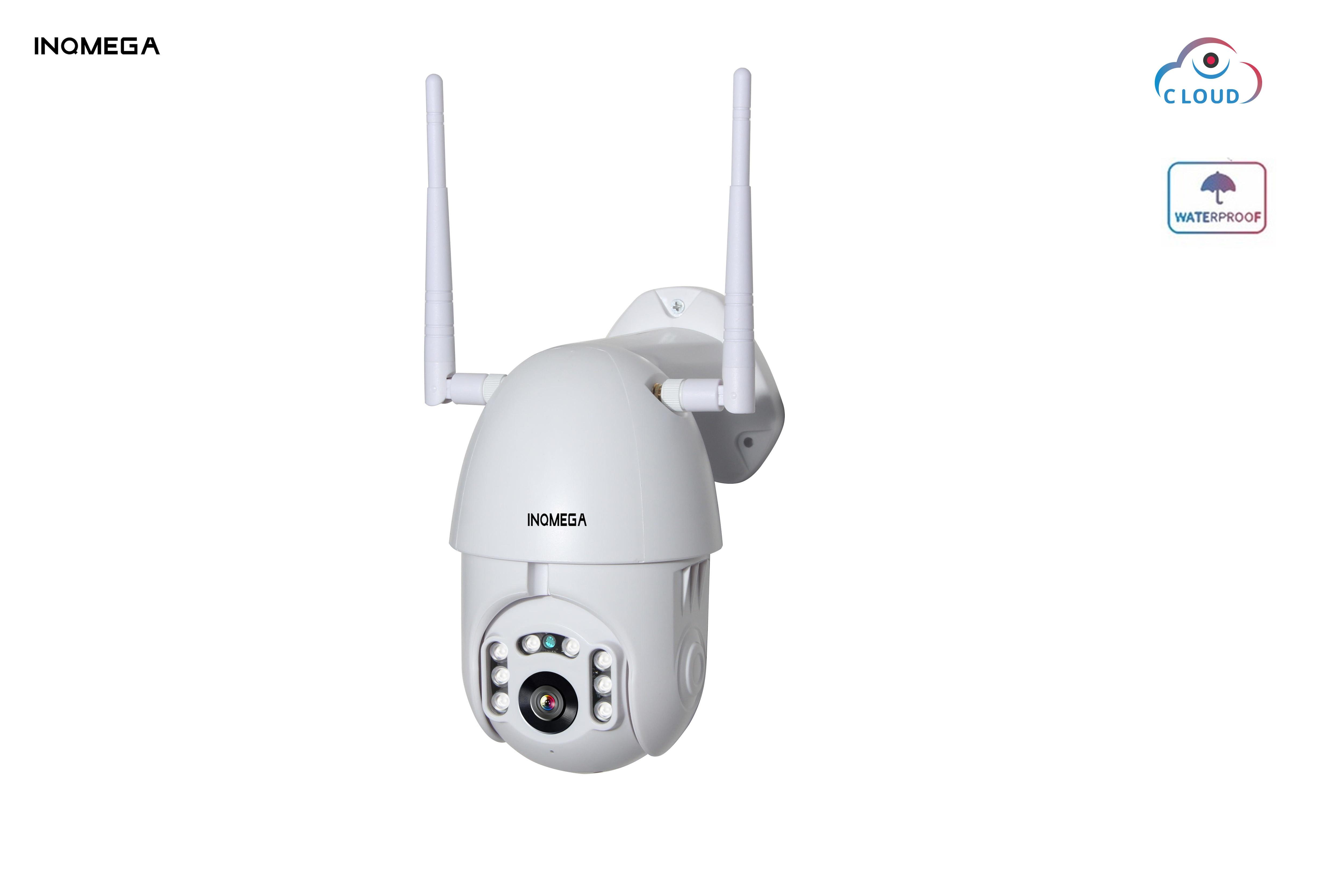 INQMEGA 2MP 1080 P Wifi caméra IP sans fil PTZ vitesse dôme CCTV IR Onvif caméra de Surveillance de sécurité extérieure H.264 IR 50 M eau