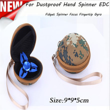 snowshine3 #2522 Box Case For Dustproof Hand Spinner EDC Fidget Spinner Focus Gyro Toy free shipping