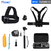 TUOWEI For GoPro Hero Accessories Selfie Stick Buoyancy Rod For GoPro HERO 5 Session 6 5