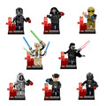Star Wars the Force Awakens Darth Vader/Obiwan/Han Stormtrooper minis Clone wars Building Blocks Leping Compatible