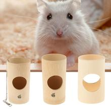 Wooden Hay Manger Pet Fixed Bamboo Grass Pasture Frame Food Bucket Feeder For Rabbit Chinchillas Guinea Pig Small Pets