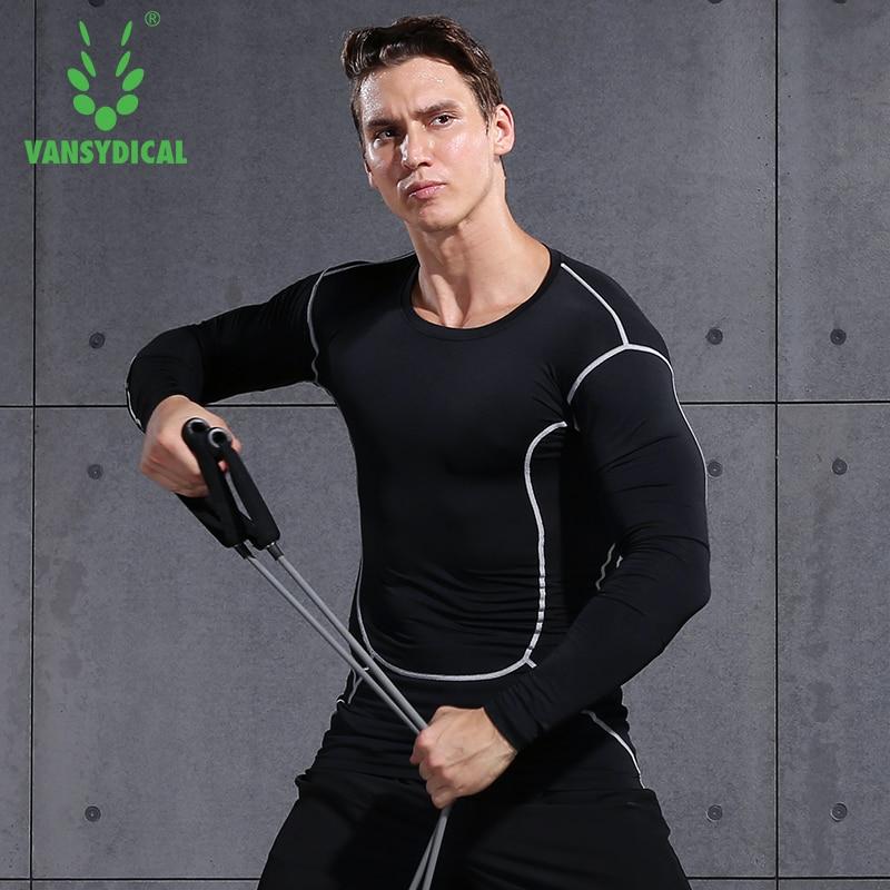 Comprehensive Sports T-shirt Running Bodybuilding Sportswear Fitness Tight Long Sleeve Men Short Sleeve Shirt Gym Compression
