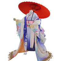 [Открыть для бронирования] Косплэй японского Аниме Kuroshitsuji Ciel Phantomhive Moon Пробуждение кимоно Siut (10 шт.) cos Одежда