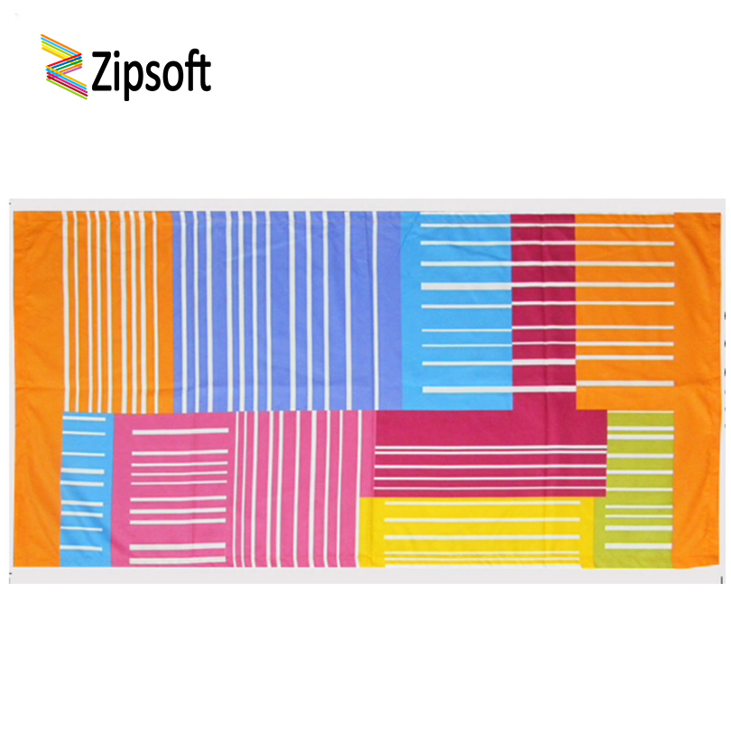 Zipsoft Beach Towel Kids 2018 Microfiber Quick Dry Beach Blanket Capes Mat Pool Plage Hotel Camping Swimming Sports Wedding Gift