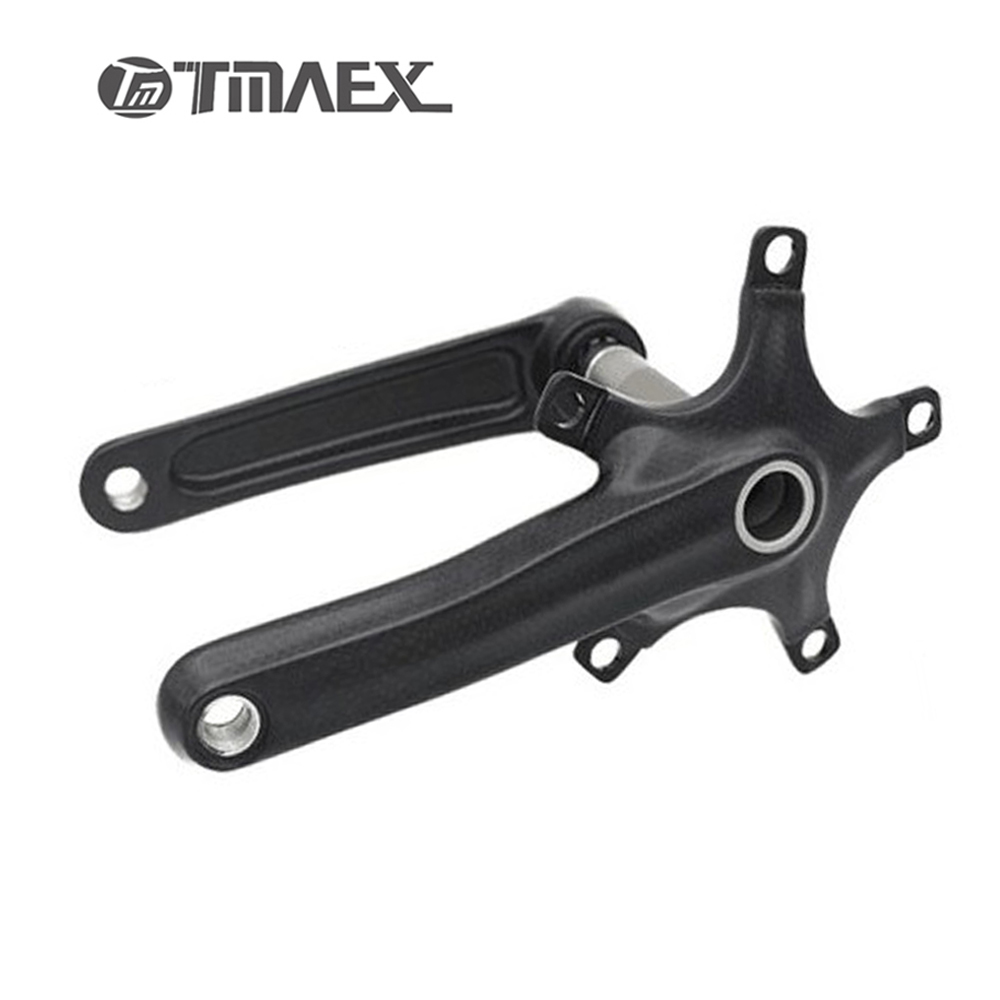 3K Matte Carbon Crank Road Bicycle Crank  BCD 110mm  MTB Bike  Crank BCD 104mm Bicycle Crank Length 170mm Mountain Bike Parts холодильник bcd 102d