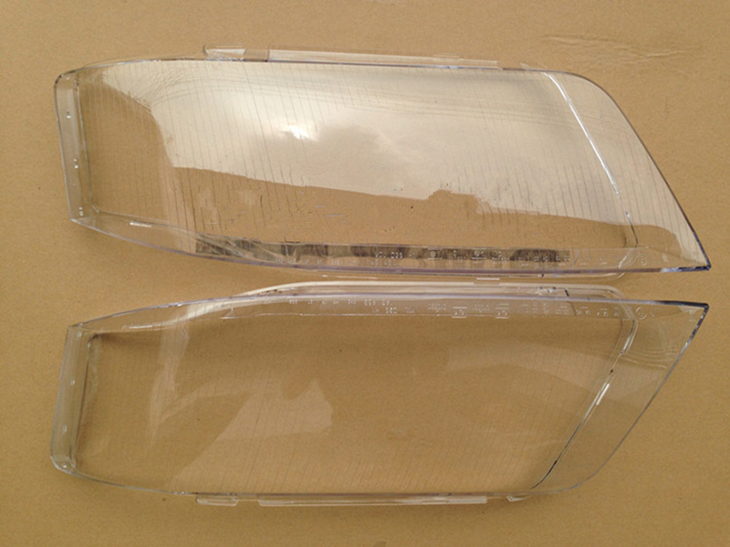 Car Left & Right Headlight Clear Lens Cover Fit For Audi A6 1999-2002 1 Pair new 1 pair car left