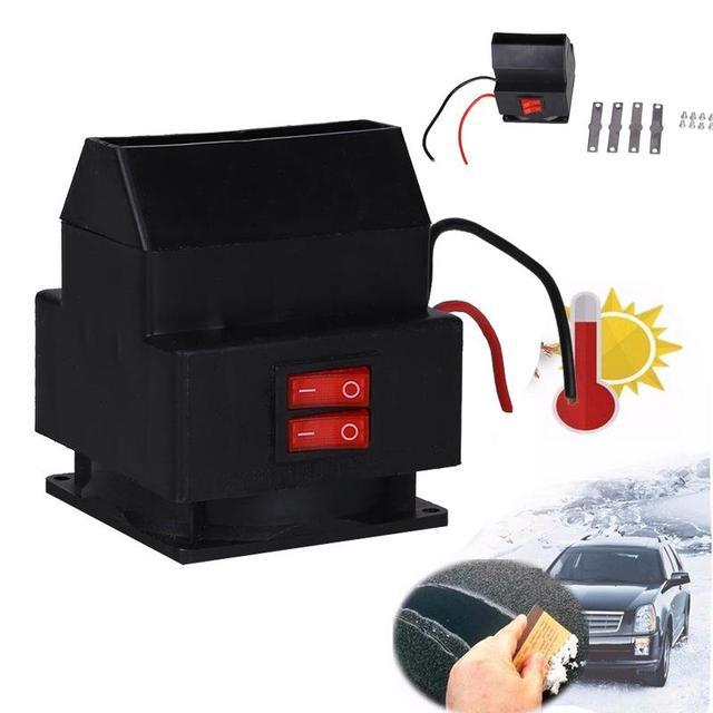 Vehemo Auto Auto Elektrische Ventilator Kachel Voorruit 12 V 150 W