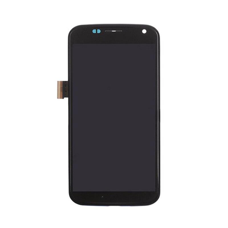 imágenes para Original Para Motorola Moto X XT1052 XT1053 XT1056 XT1058 XT1060 Pantalla LCD Táctil Digitalizador Asamblea + Frame + herramienta