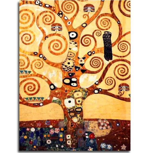 Disegno Albero Della Vita Di Klimt Disegni Di Natale