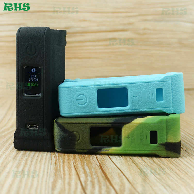 10pcs Newest Ecig Lost Vape PARANORMAL DNA 75C tc box silicone protective  case/cover/skin/sleeve factory free shipping