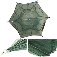 C3 Portable Foldable Fishing Net Fish Shrimp Minnow Crab Baits Cast Mesh Trap Easy To Use Quickly Opened(China)