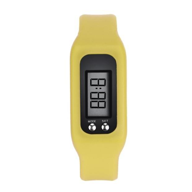 Nouvelle Montre De Mode Bande de Silicone Numérique Montres décontracté De Luxe Simple petite taille sport Business montre-bracelet LED pour dames
