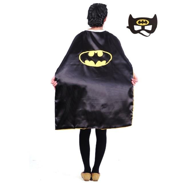 Teens superhero cape L110*W70 cm double sides character batman capes good Halloween performance party  sc 1 st  AliExpress.com & Teens superhero cape L110*W70 cm double sides character batman capes ...