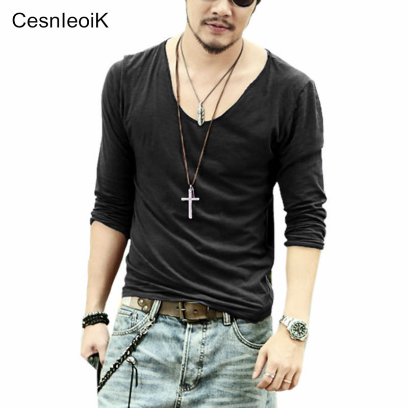 Buy men t shirt men casual leisure for Good quality long sleeve t shirts