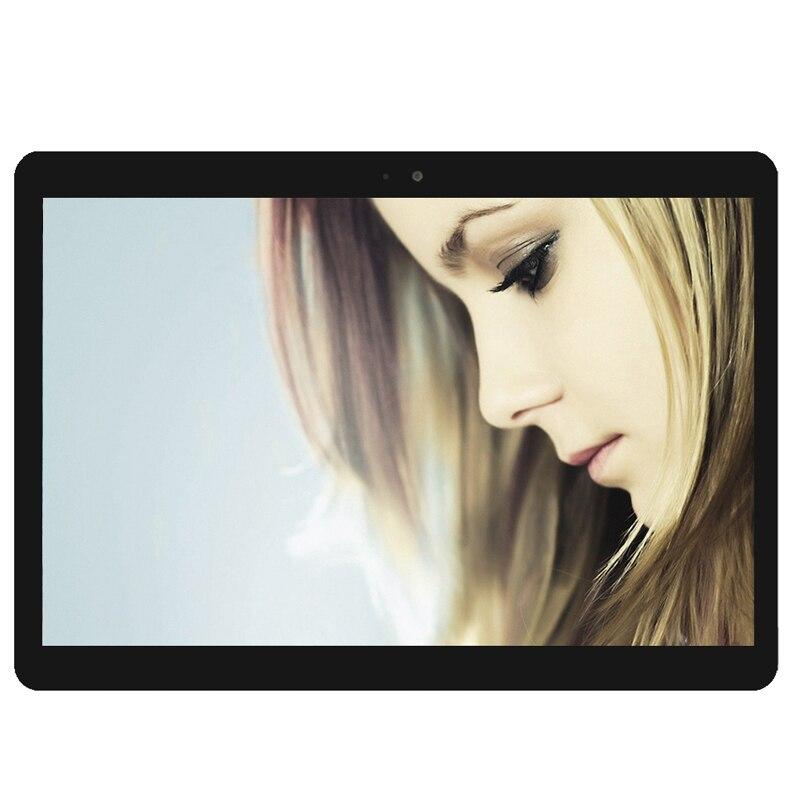 Coque gratuite S109 10.1 'tablettes Android 7.0 Octa Core 32 GB ROM double caméra 8MP double SIM tablette PC 1920X1200 GPS bluetooth téléphone