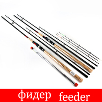 FISH KING Feeder 3 Sections High Carbon Super Power Fishing Rod CW L M H 3