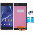 New For Sony Xperia Z2 L50W D6503 LCD Display + Touch Screen Digitizer Assembly Replacement + adhesive + Tools Free shipping !!!
