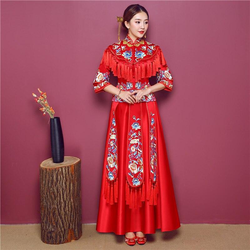 Lujoso Vestidos De Novia Chinos Tradicionales Componente - Ideas de ...