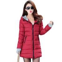 Di inverno delle donne del rivestimento 2019 di alta qualità caldo addensare femminile delle donne del rivestimento del cappotto lungo con cappuccio outwear casaco feminino inverno