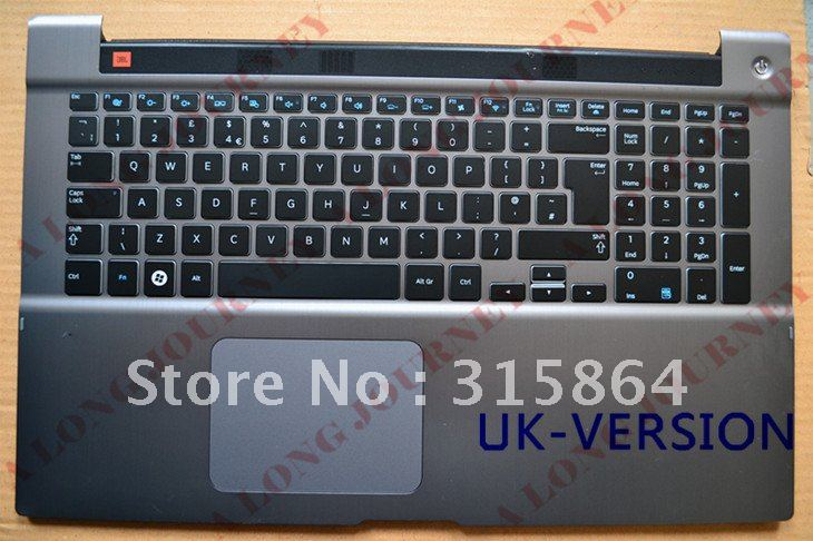 NEW LAPTOP KEYBOARD FOR SAMSUNG Series 7 700Z7B 700Z7A with speaker and touchpad US/UK LAYOUT