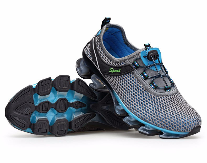 Super Cool breathable running shoes men sneakers bounce summer outdoor sport shoes Professional Training shoes plus size 35