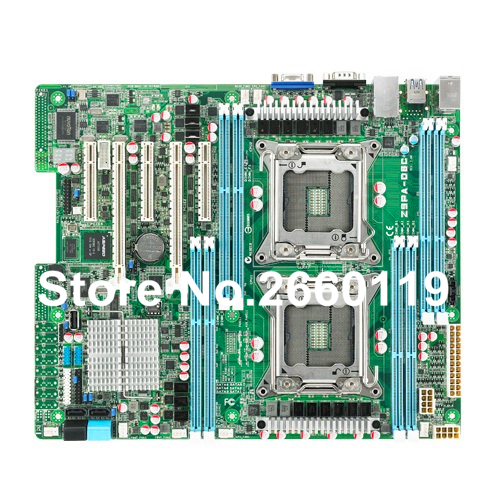 Server motherboard for Asus Z9PA-D8C LGA2011 system mainboard fully tested and perfect quality