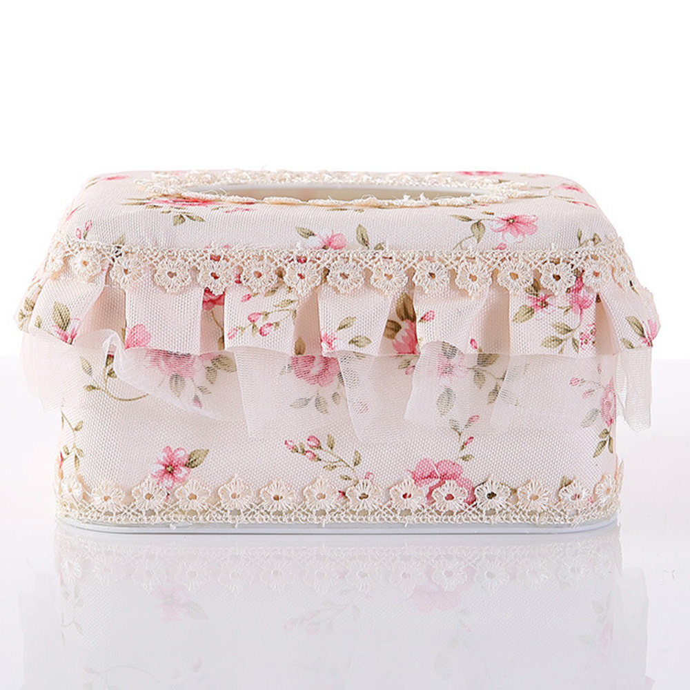 Бумага Полотенца держатель, коробка для салфеток крышки коробки из папиросной бумаги стол автомобили Высококачественный кружевной+ Пластик класса люкс