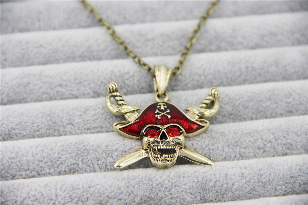 Fashion Jewelry Vintage Charm Pirates of the Caribbean ...