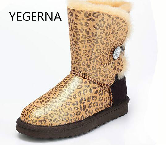2017 Hot Sale Women Winter Boots New Arrival 100% Real Fur Classic Genuine Cowhide Leather Snow Boots Winter Shoes for Women new arrival hot 100