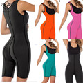 Wechery Waist Trainer Corsets for Sweat Neoprene Shaperwear Full Body Bodysuit Firm Waist Shaper Modeling Strap Slimming Shapers