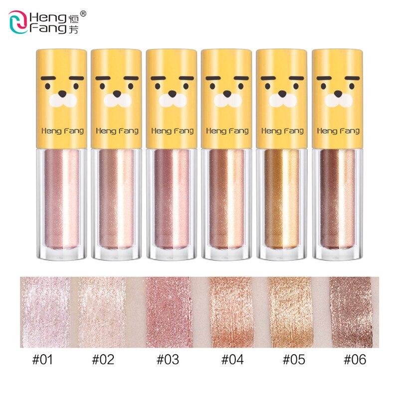 6pcs/lot Sexy Diamond Shimmer Eyeshadow Glitter Pigments 6 Colors Metallic Liquid Eyeshadow Eyes Makeup Sparkle Eyeliner golden state of mind colourpop