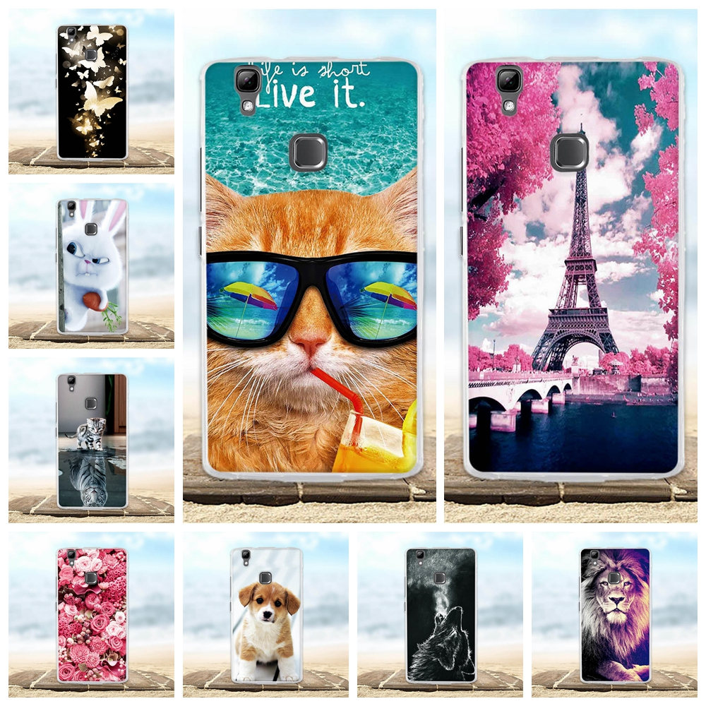 5.0 Cover For Doogee X5 MAX Pro Case 3D Cute Animal Fundas Coque For Doogee X5 MAX Phone ...