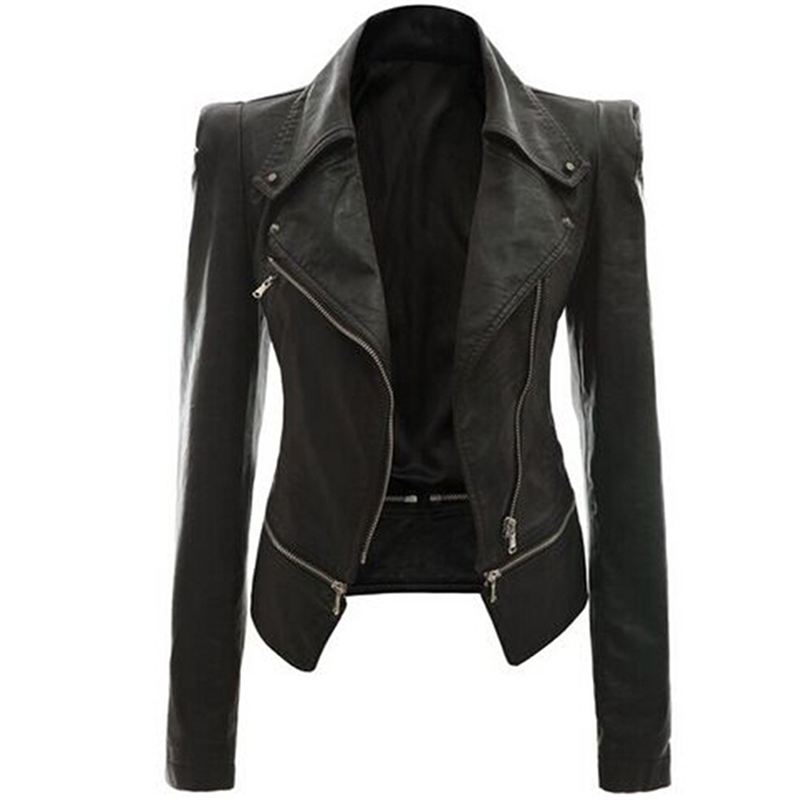 Soft Leather Jacket - Jacket
