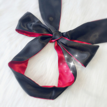 Soft Sleep Eyeshade Satin Ribbon Bondage On Eyes Sex Breathable Cover Eye Patch Belt Blindfold Sexy Exotic Lingerie Accessories
