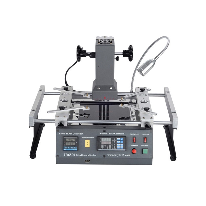 ACHI IR6500 infrared BGA Soldering Rework Station IR 6500 For Motherboard Chip PCB Refurbished Repair