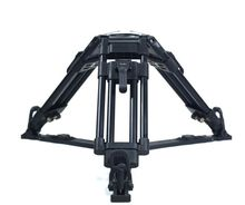 Maxload 50kg Video Digital camera Brief Aluminum Professinoal Tripod Legs with Floor Spreaders for 100mm Bowl Fluid Head