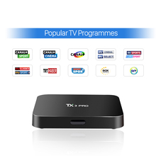 Android Tv Set Top Box Free European Italy French Arabic Iptv Canal Plus Sport Amlogic S905X Quad core Android Box Media Player
